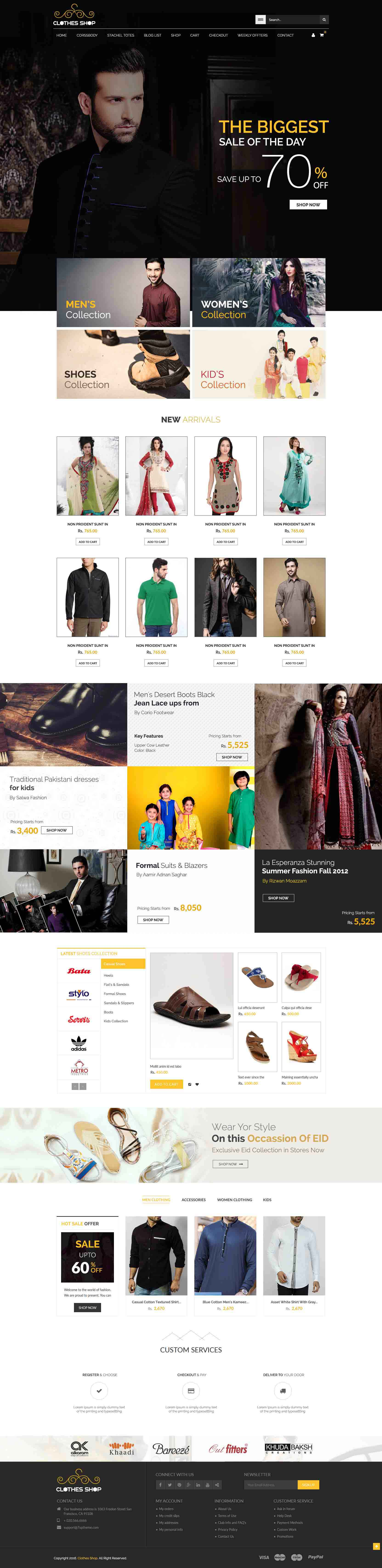 incipit solutions ecommerce shopping website design