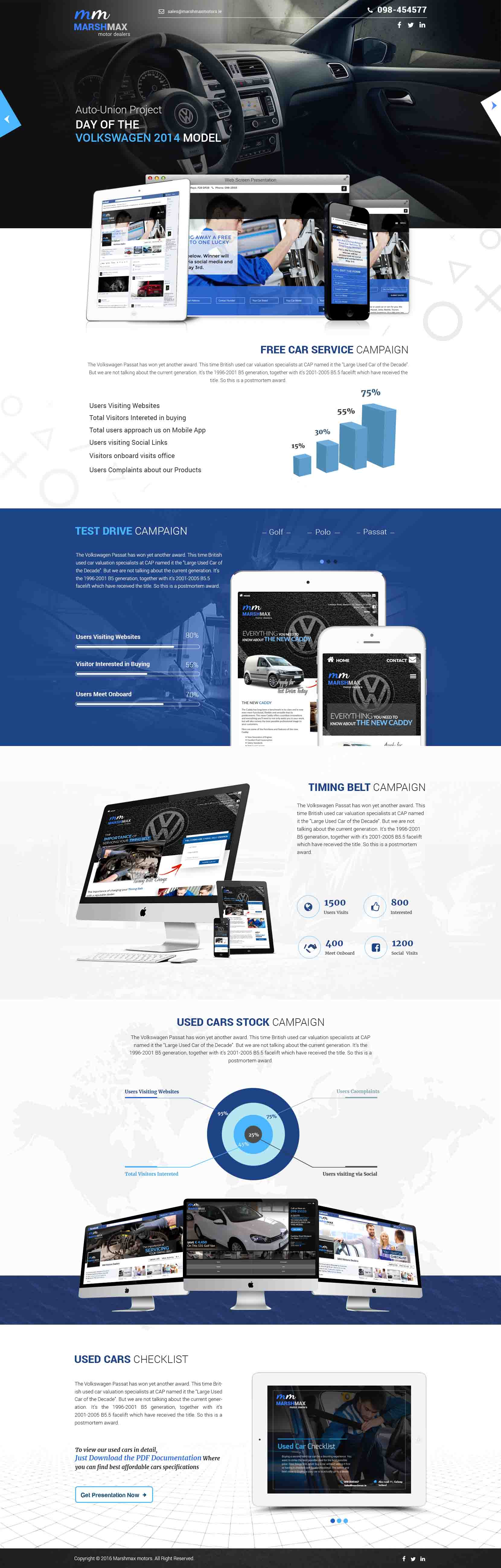 incipit solutions automobiles website design